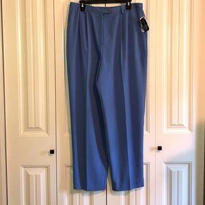 Preston & York Blue Dress Pants Size 18 NWT
